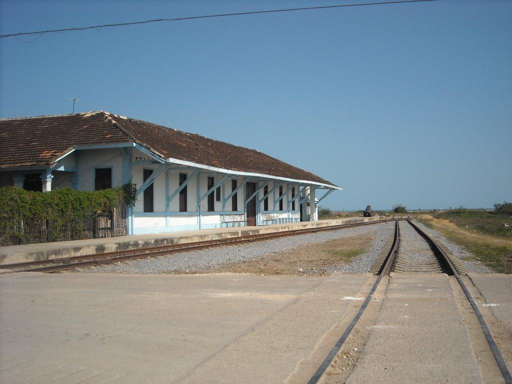 Estación de trenes Surgidero de Batabanó